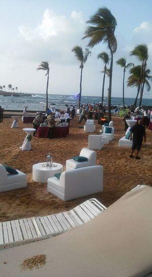Celebracion en el caribe hilton en San juan Puerto Rico.