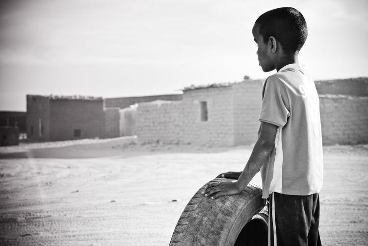 One Person Child Childhood Outdoors Innocence Sahara Desert Refugees Blackandwhite Black And White Freedom Saharawi Saharawi Store