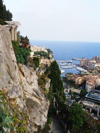 монако Monaco Travel порт City путешествия Море Sea Buildings & Sky Mountains Монако, октябрь 2013