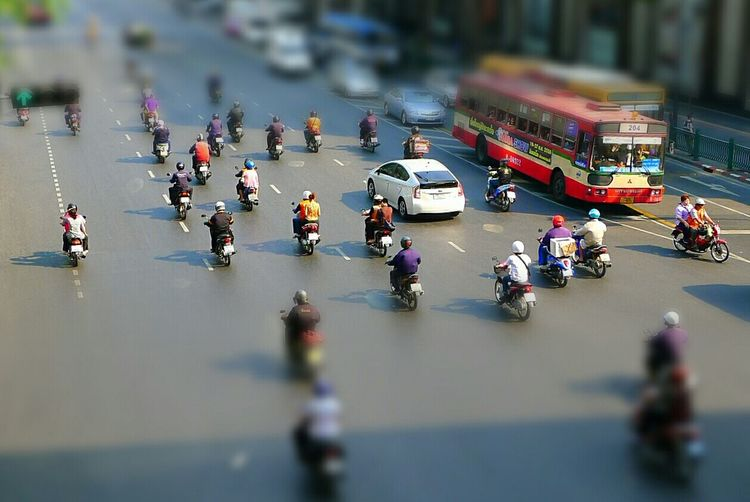 Street Photography @ Bankok. Traveling Starting A Trip Popular Photos Check This Out Taking Photos Miniature Tiltshift Eye4photography