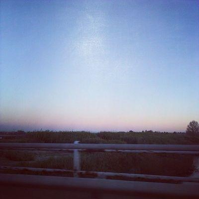 Risveglio Faticoso Troppo Freddo voglio la neva cielo azzurro alba