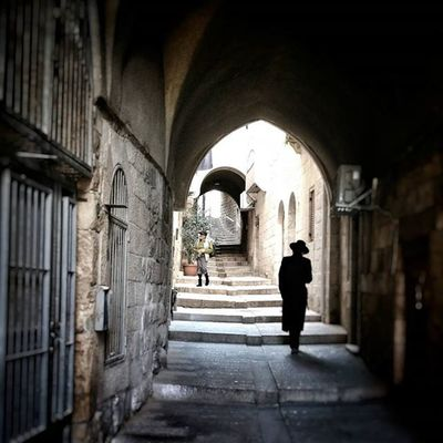 We took this just now, our last walk through the old city. Tanakhtour2015 Jerusalem Jewishquarter