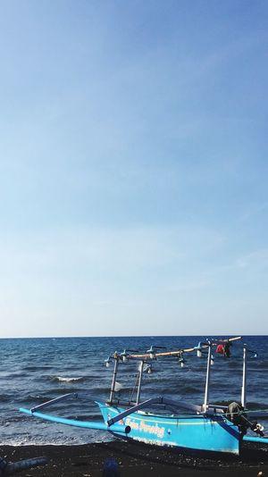Beach day. Sky