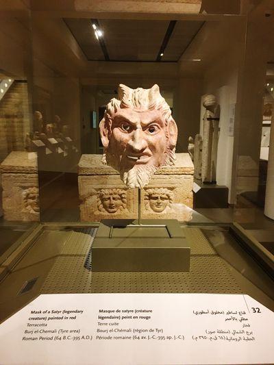 The National Museum of Lebanon 🇱🇧 1/6 history art Human Representation Male Likeness