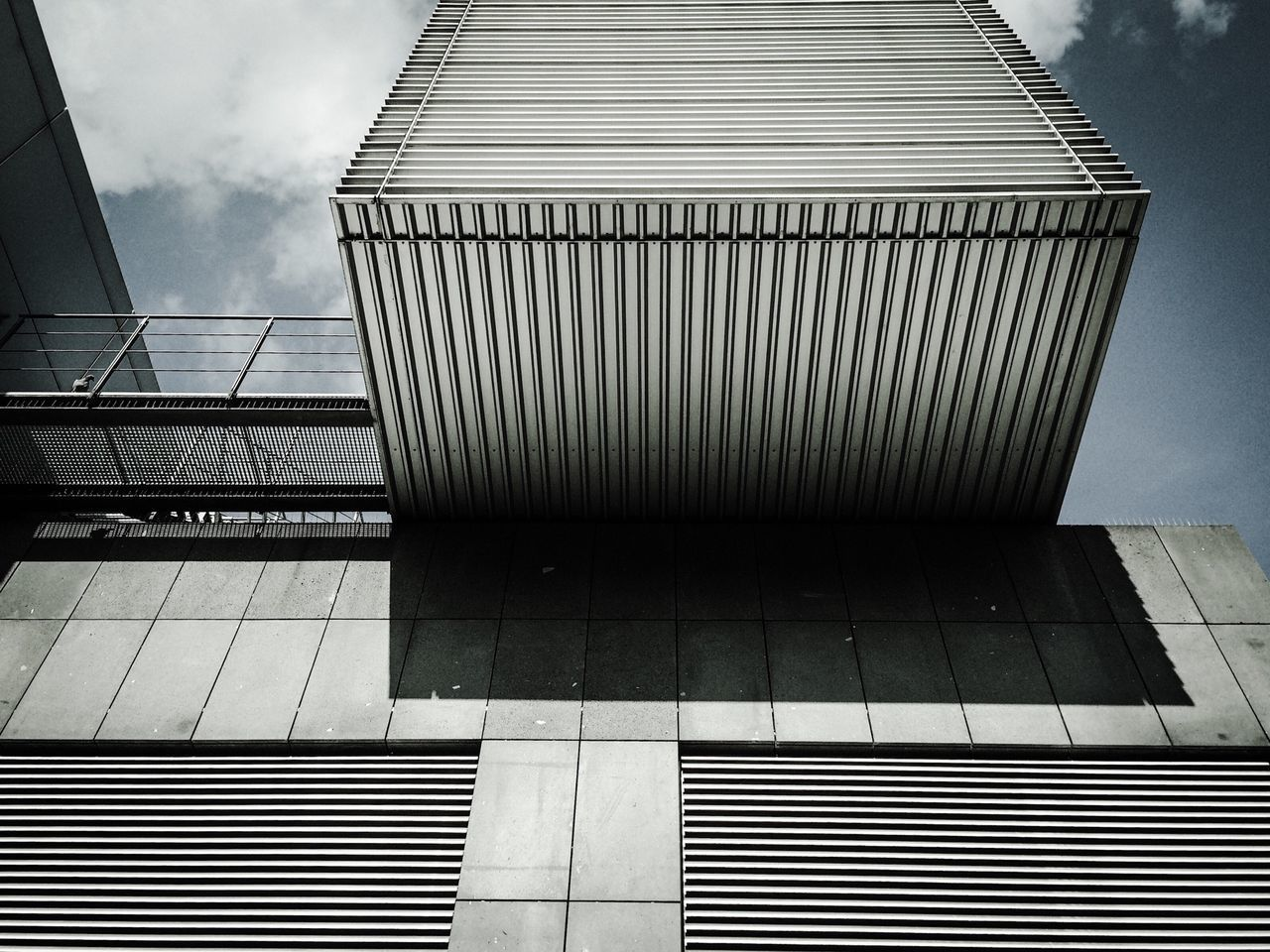 Exterior of Modern Building Against Sky