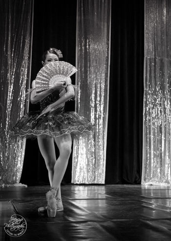 Ballerina performing Ballerina People Photography Ballet Dancer Black And White Dancing Canon Performance Stagephotography Art