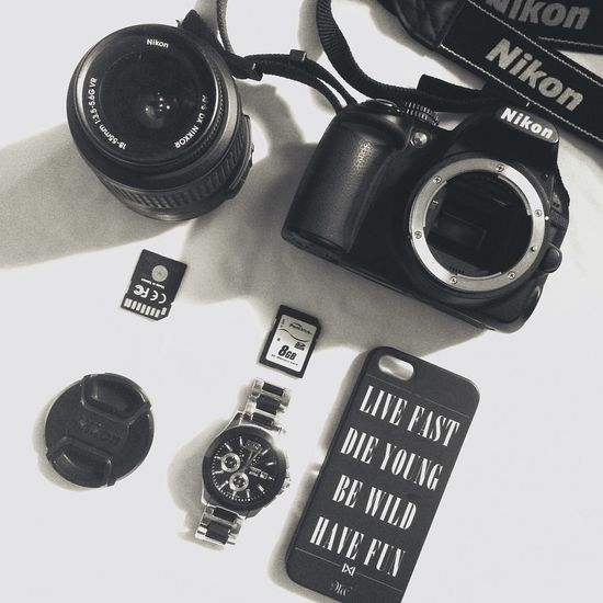 Camera DSLR Nikon Watch Sdcard Iphonecase LanaDelRey Blackandwhite Lyrics Quotes