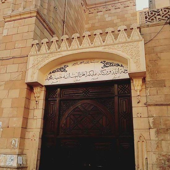 Arch Architecture Brick Wall Built Structure Day Elhussien Entrance باب تجلى شارع المعز مسجد