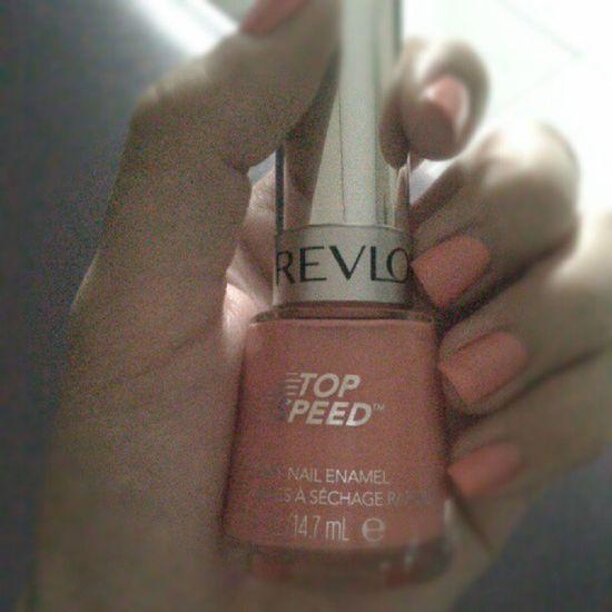 New colour Revlon Topspeed Peachy Nailart  tangerine summer