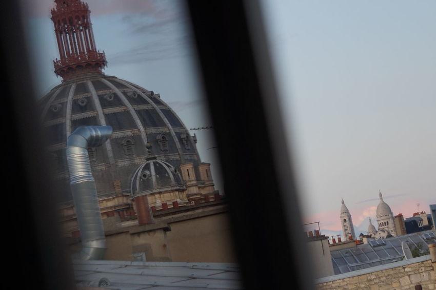 Miromesnil Montmartre Paris View Architecture Building Exterior Built Structure City Day No People Parisian Place Of Worship Religion Sky Spirituality St Augustine