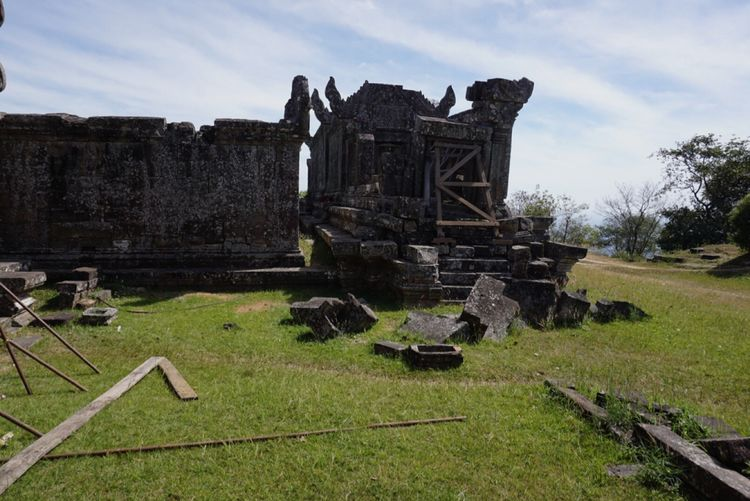 The Past History Old Ruin Built Structure Sky Architecture Damaged Cemetery Day No People Grass Abandoned Spirituality Ancient Memorial Building Exterior Outdoors Bad Condition Ancient Civilization