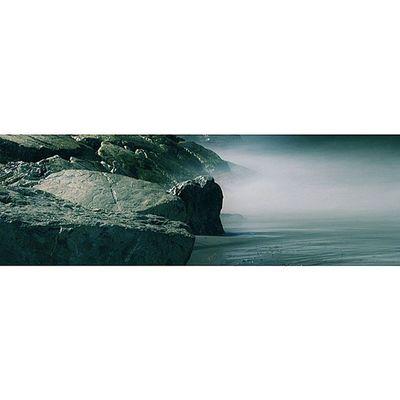 Sea fog.