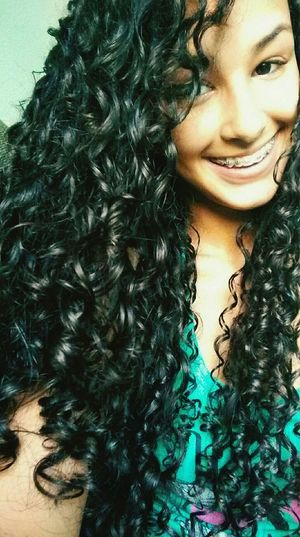 Hello World Whats Up? 😍😌😊 Curly Hair ❤ Cachos *--* Cachosbra IloveIT ♡ Summer ☀ BrasilianGirl 😍😎✌🎊
