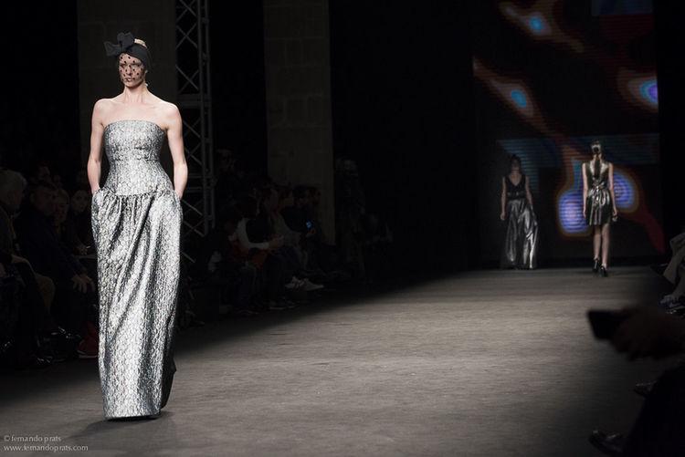 Justicia Ruano's parade, at the 15th edition of the The Fashionist - 2015 EyeEm Awards 080 Bcn Fashion Fashionista Fashion&love&beauty