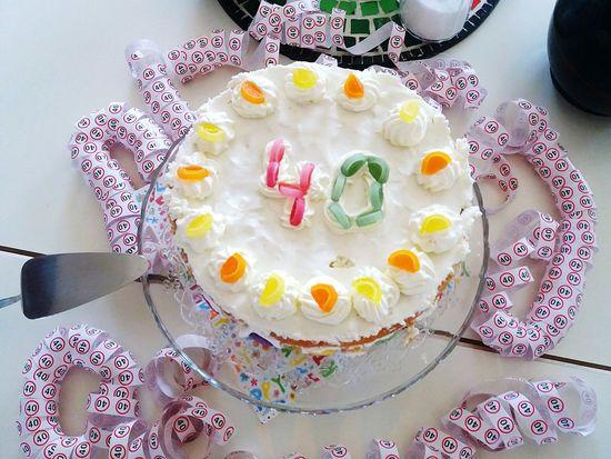 4oth birthday lemon cake Birthday Cake Birthday Party 40thbirthday 40thbirthday Cake Lemon Cake 40th Birthdaylemon Cake Joyful Moments Celebrations Special Moments