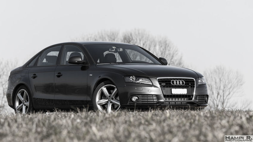 Audi Audi A4 Black & White Black And White Blackandwhite Blackandwhite Photography Car No People Outdoor Photography Outdoors Quattro