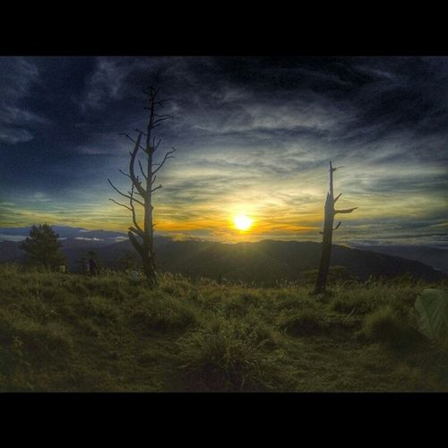 Good morning!!! :) view from campsite, Mt.Ugo Sunrise Traveph Itsmorefuninthephilippines