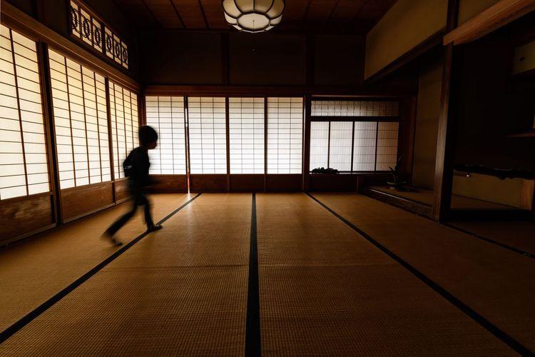 遠い日の記憶 -Childhood Days- Room Lifestyles Built Structure People Day Architecture Real People Full Length Window One Person Indoors  Walker In Japan The Week On EyeEm Capture The Moment Japan Creative Light And Shadow