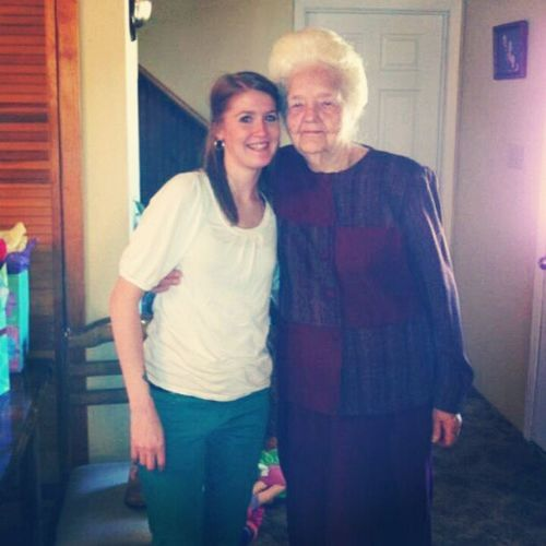 One of the most amazing people! Greatgrandmaw