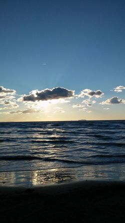Mare Tirrenia Sea And Sky Sea View Sunset_collection