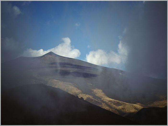Etna Thunder Day Auto Post Production Filter Mountain Sky Tranquil Scene Scenics Tranquility Nature Non-urban Scene Travel Destinations Beauty In Nature Tourism Day Blue Remote Cloud - Sky Mountain Range Etna Physical Geography Outdoors Majestic Sicily Naturelovers Skyporn Landscape Dreamscapes Skyandclouds  Thunder Italy🇮🇹 Landscape_lovers