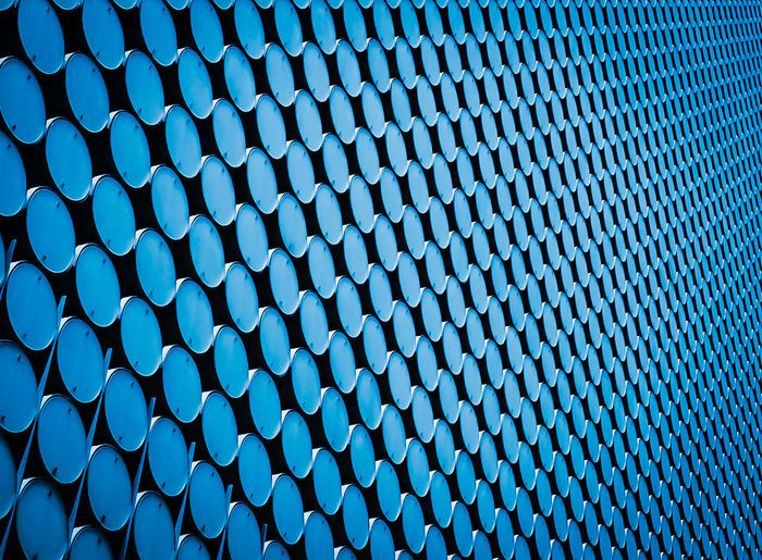 Pattern Abstract Melbourne Rmit Circles Blue Architecture Repetition Outdoors Day No People The Architect - 2017 EyeEm Awards