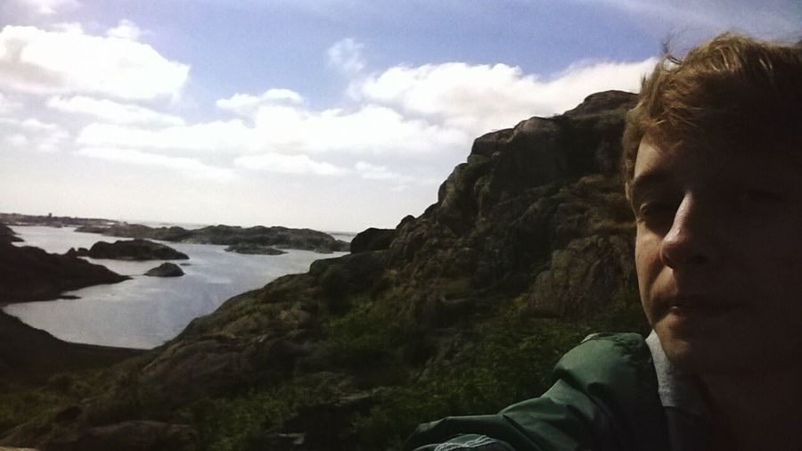 That's Me Enjoying Life Nature_collection Hello World Hanging Out Skärhamn Sweden Shore Sea Baltic Sea