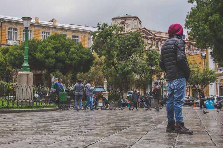 La Paz, Bolivia BOLIVIA ❤ Bolivia Local Landmark Façade Pedestal Outdoors Architecture