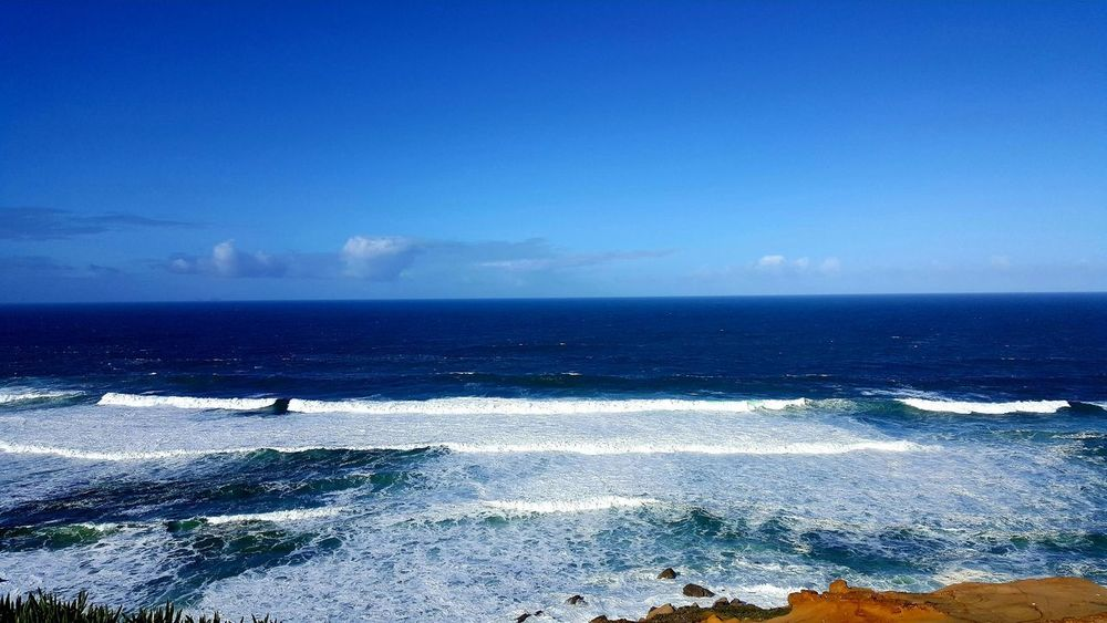 Sea Horizon Over Water Beach Blue Nature Sky Scenics Water Beauty In Nature Clear Sky Day Outdoors Backgrounds