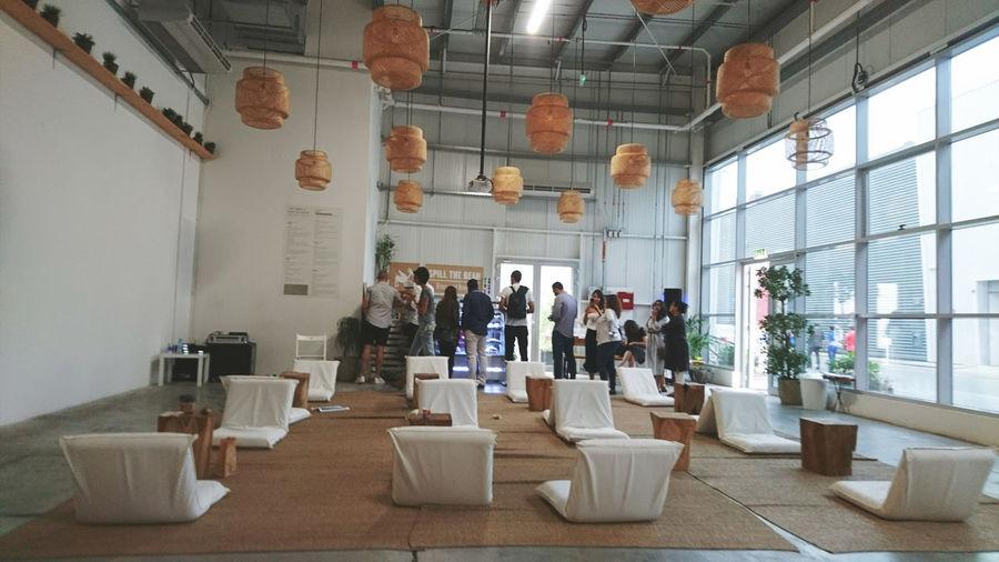 Alserkal Avenue is the region's foremost arts hub in Dubai, UAE Taken last March 2017 Art Design Furniture Design Indoors  Interior Design Mobilephotography Museum Shapes And Forms