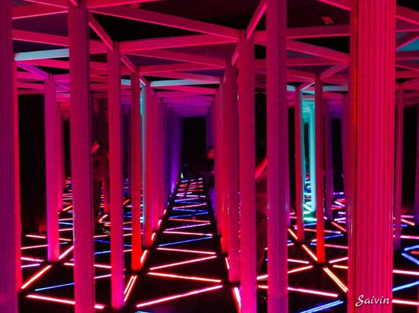 Lost in a Maze ! Lost In Thought... Red Light Red Light Ladyphotographerofthemonth Funny Places Showcase: January Maze Runner All The Neon Lights Quirky Color Of Life