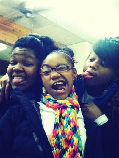With My Girls In Class !