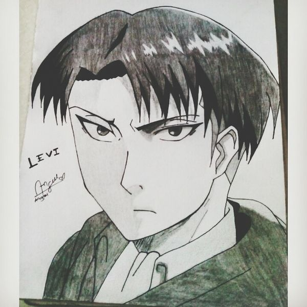 Levi Ackerman Anime Art Drawing Animedrawing  Animes