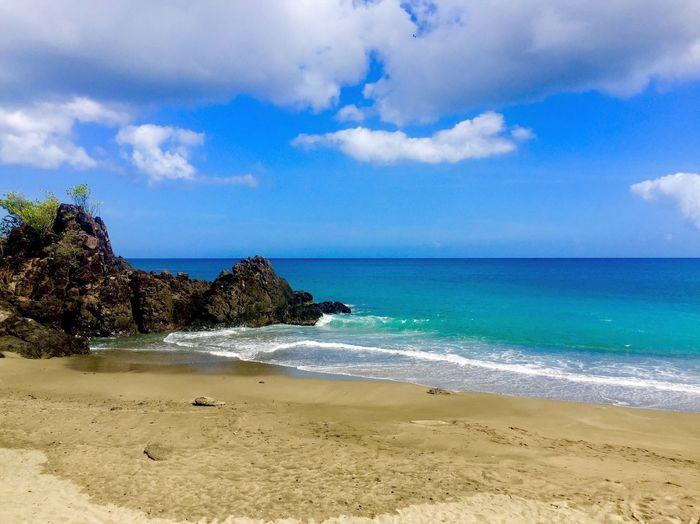 Serenity First Eyeem Photo Beach Sun Waves, Ocean, Nature Waves Caribbean Island Tobago Peaceful Vacation