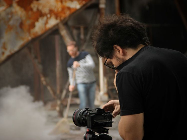 Dust man and photographer | ANAGOOR | Marco Giulio | Video Shoot Getting Inspired Showcase April Here Belongs To Me Dust Special Effects Handmade Telling Stories Differently The Portraitist - 2016 EyeEm Awards Human Meets Technology The Photojournalist - 2016 EyeEm Awards Architecture EyeEm Italy |