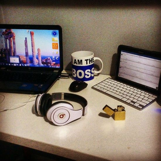 Mysetup Tablet Laptop BEATS zippo monsterspeaker imtheboss