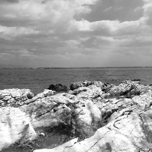 Sea Water Horizon Over Water Scenics Rock - Object Sky Beauty In Nature Travel Destinations Nature Tourism Seascape Geology Vacations Croatia Hrvatska Kroatien