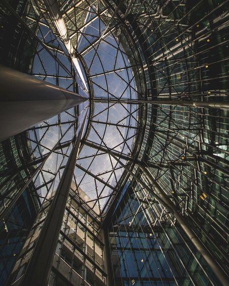 Glass City LONDON❤ Urbanphotography Urban London Architecture Taking Photos Glass Lookingup