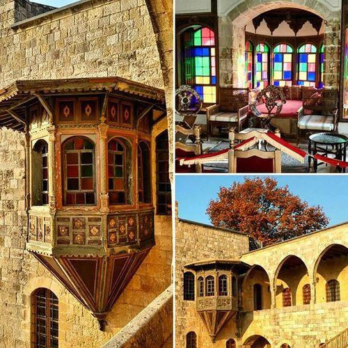 Gazibo in Beit ed Dine Palace... Insideout Beiteldine Beirut Lebanon Palace Sunset 19thcentury Historical