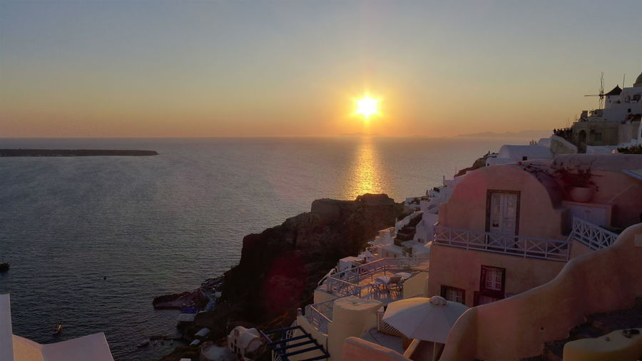 EyeEmNewHere Sunset Over Santorini Island