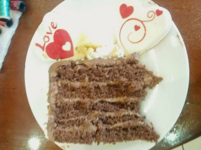 having SmileChoclate cream cake :p Taking Photos Cake Chocolate Check This Out Hello World Eye4photography  Food Morning