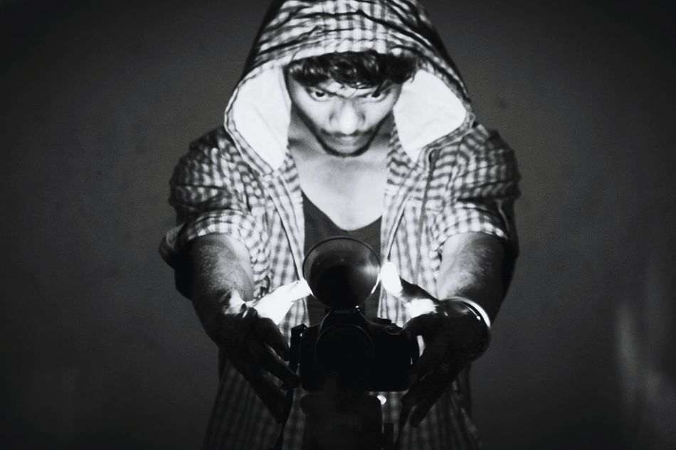 #canon #India #selfiee #blackandwhite EyeEm Selects Boxing - Sport Adult Adults Only Only Men One Person Strength Boxing Glove Men One Man Only Sport Real People Athlete Close-up Human Body Part People Exercising Indoors  Day