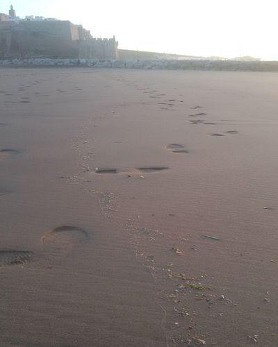 plage salé de l'autre coté les oudayas de Rabat Beach StepByStep 👣👣 Day