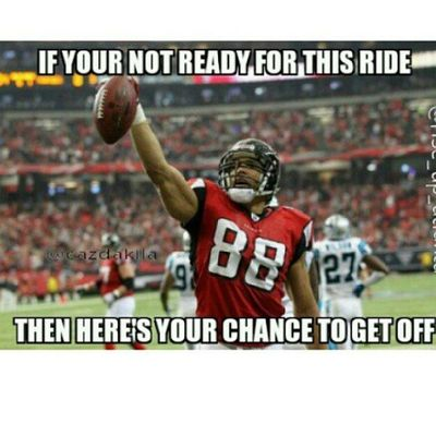 Who ever said this is going to be an easy season is sadly mistaking. We know in Atlanta sports that all our teams make us go grey before our time. But we are all ready for the season to start. 9/8/13 Whodat Wedat RiseUp