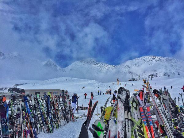 Winterscapes Winter Wonderland Stubaiergletscher Austria Skiing Mountains Snow Winter Alpine Alpine Skiing