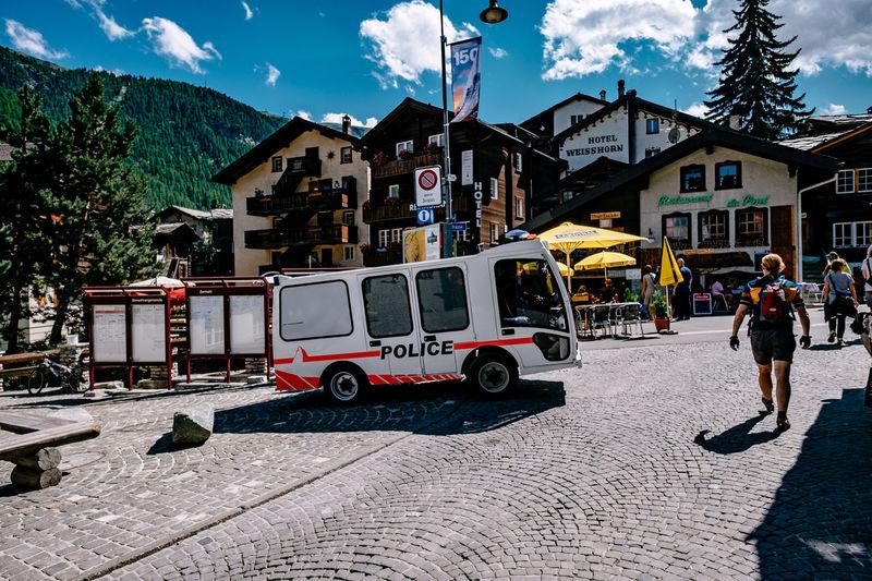 Zermatt Hotel Matterhorn  S Street Summer Swimming Tourism Tourists Zermatt