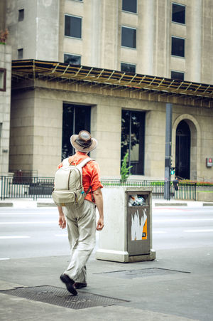 Day Full Length One Man Only One Person Outdoors People Standing Street Photography Uniform Uniform Cap