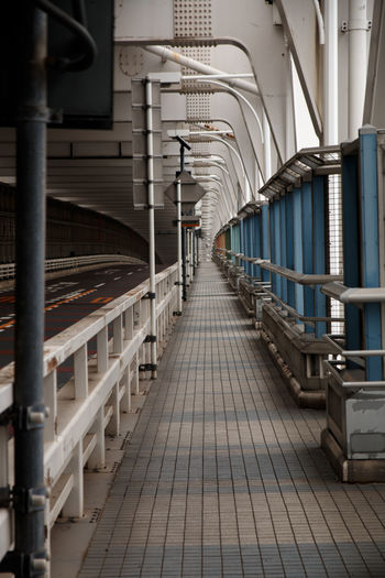The Way Forward Direction Indoors  Architecture In A Row Diminishing Perspective No People Absence Illuminated Flooring Public Transportation Lighting Equipment Empty Arch Footpath Tile Arcade Tiled Floor vanishing point Aisle Ceiling