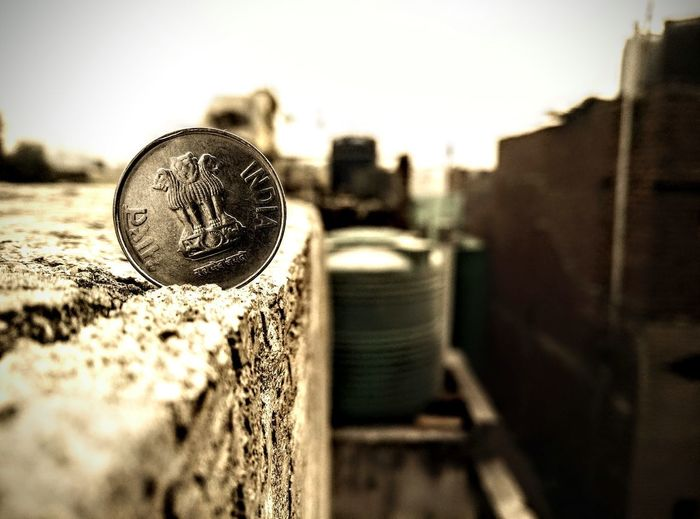 Oneplusone Oneplus One Camera Coin Coin Vintage Coins Sad & Lonely Old Old Coin Indian Coins Coin Close-up Coin Closeup Close-up Sky Close-up Vintage Sepia Toned Rusty Old-fashioned Bolt Tilt-shift Vintage Car First Eyeem Photo EyeEmNewHere