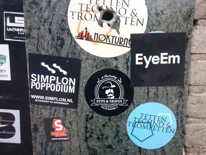 Having Fun With EyeEm Stickers! Subsonic in EyeEm Grunn